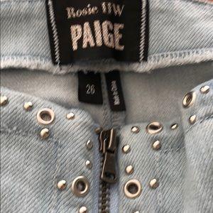 PAIGE Skirts - Paige x Rosie HW Hattie Skirt Katie Embellished